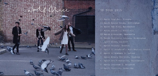 Wolf Alice 2015 UK tour dates. Picture by Picture by James A Grant