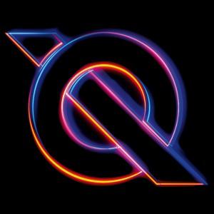 Qemists neon Q logo square