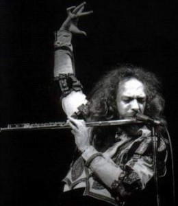 """The flute is a very heavy, metal instrument."" - Ian Anderson"