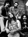 Black Sabbath sporting some pretty rad mustaches (except Ozzy)