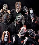 Slipknot, with the old masks