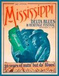 2007 Blues Festival Poster