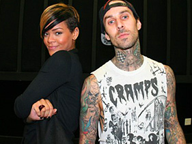 rihanna travis barker dating Travis barker has been through some shit the drummer (of blink-182, transplants, etc) has survived a plane crash, the death of his good friend dj am, gang-related shootings, substance abuse, and two tumultuous marriages—one of which was documented in the reality series meet the barkers (2005.