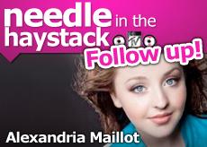 Alexandria Maillot Follow Up