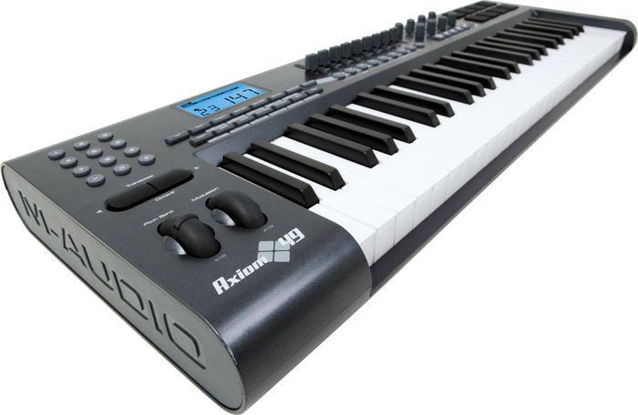 m-audio axiom 49 software
