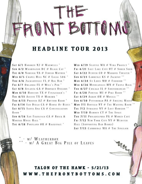 Ourstage Magazine The Front Bottoms Premiere Twin Size Mattress