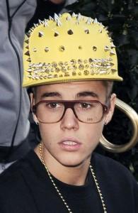 bieber stupid hat
